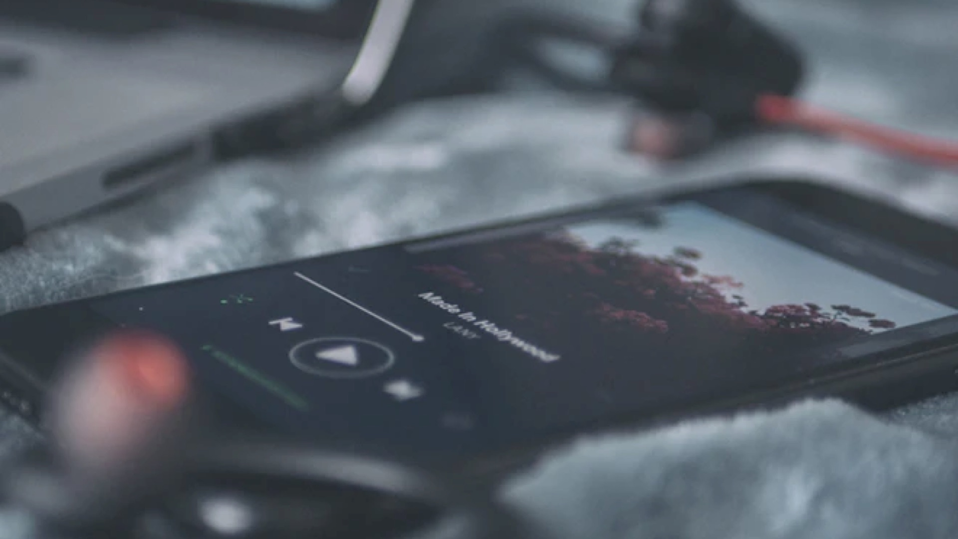 Using the Built-In System Music Player