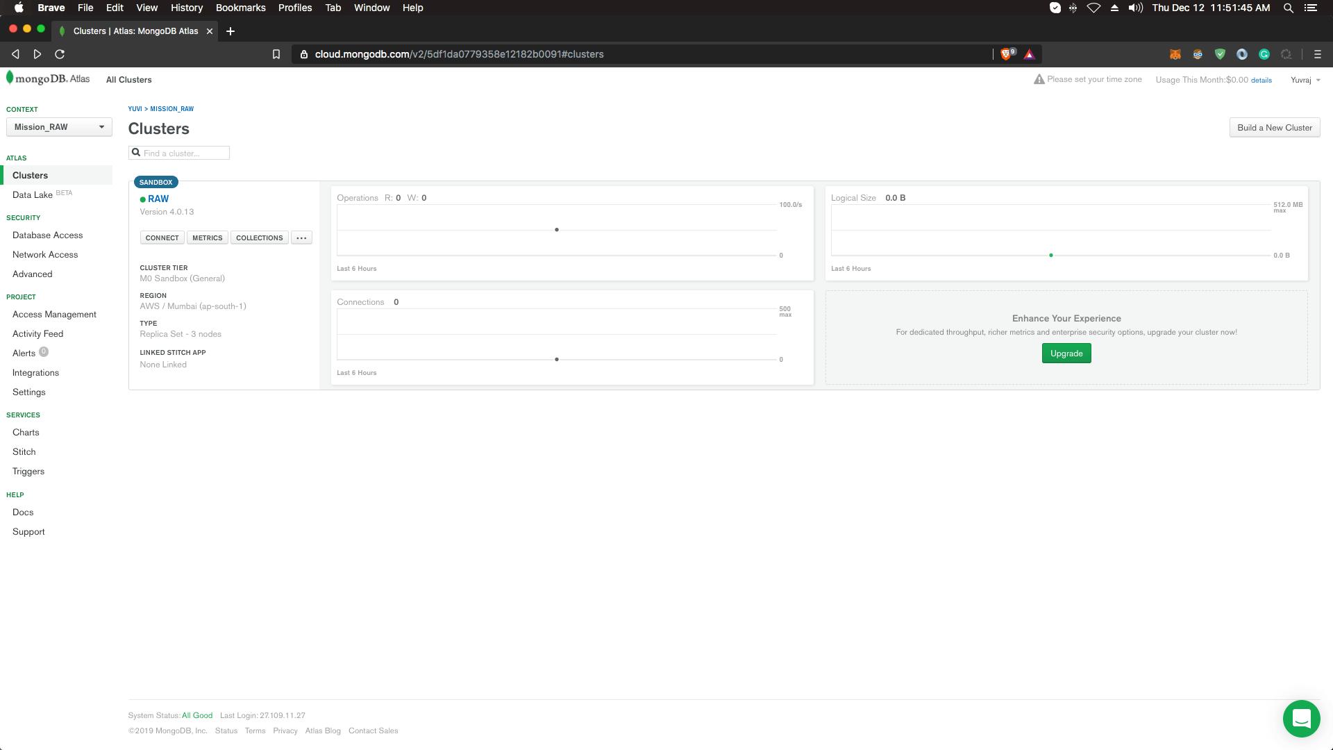 restfulapi-node-mongodb-cluster-dashboard