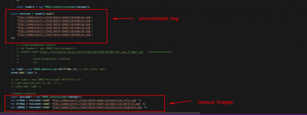 webar-modal-texture-enivronment