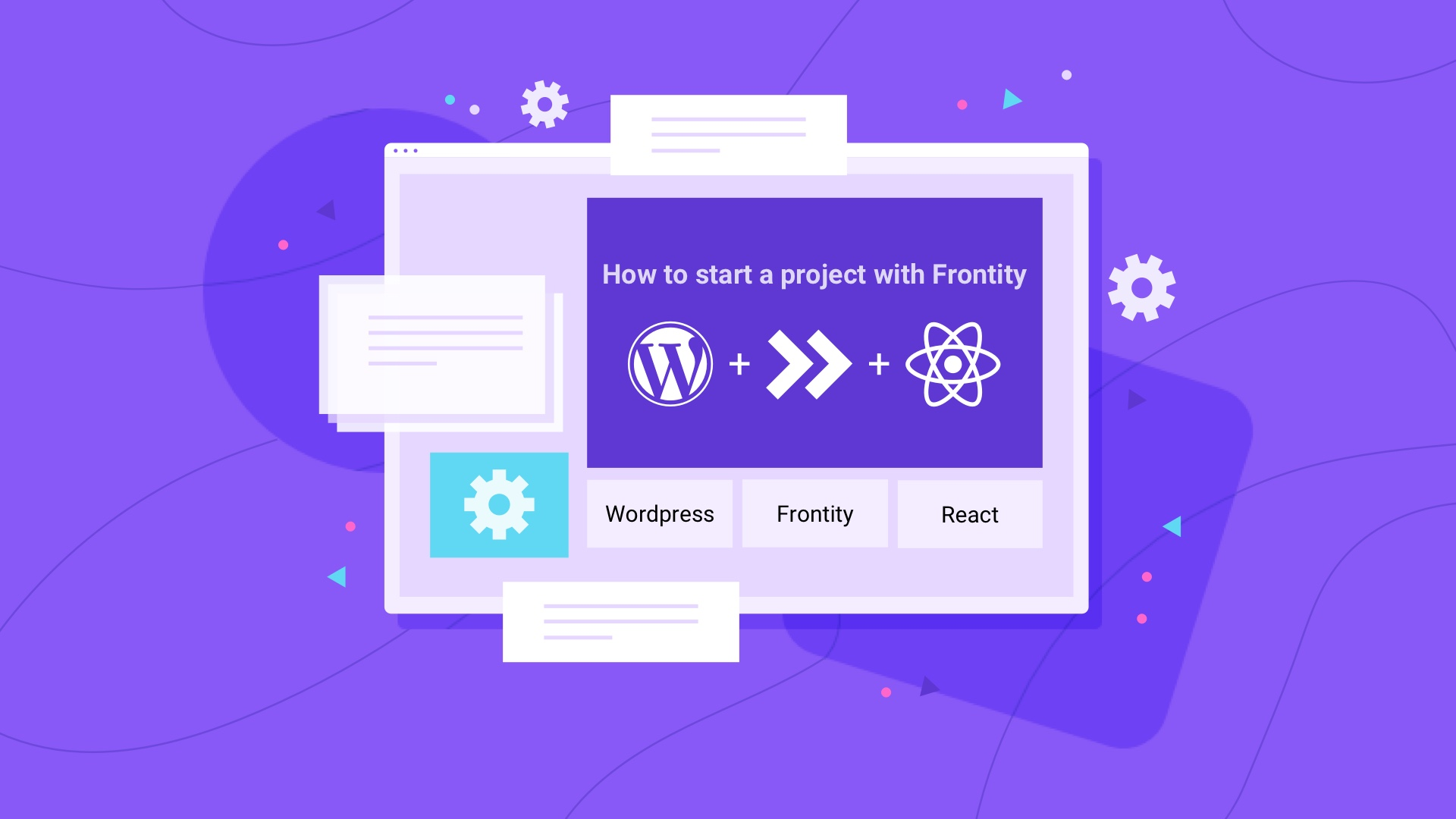 How to start a project with Frontity