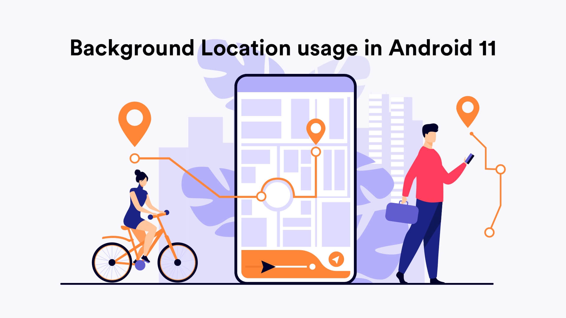 Background Location usage in Android 11