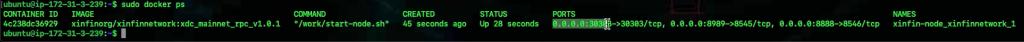 xinfin-bootstrap-masternode-docker-command