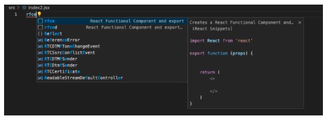 react-js-shortcut