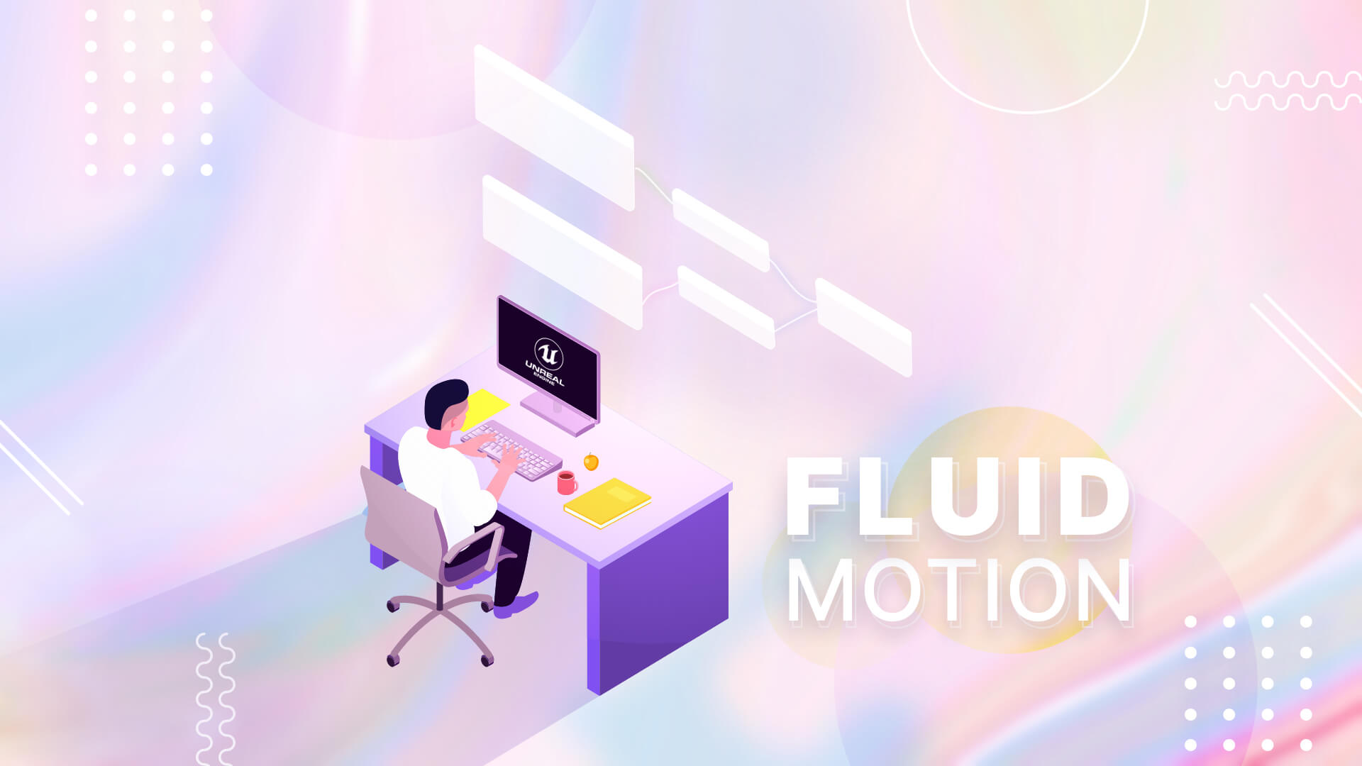 Fluid Motion using Flow map in Unreal Engine