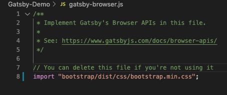 gatsby-bootstrap