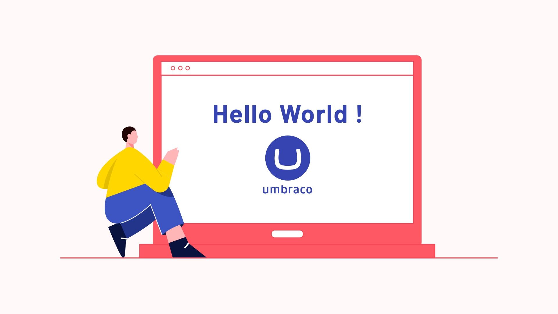 Hello World using Umbraco