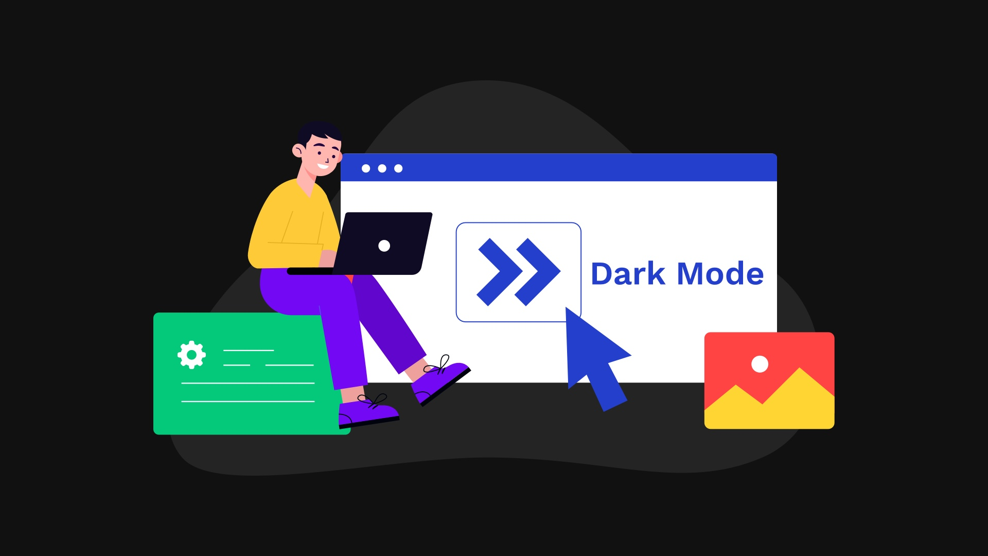 How to implement dark mode in frontity