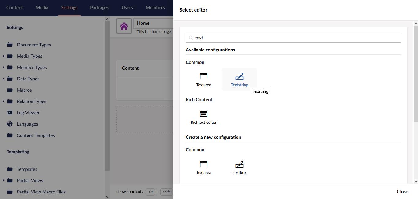 select-editor