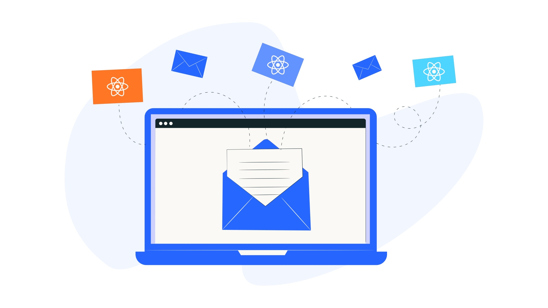 How to write HTML and ReactJS Email Template