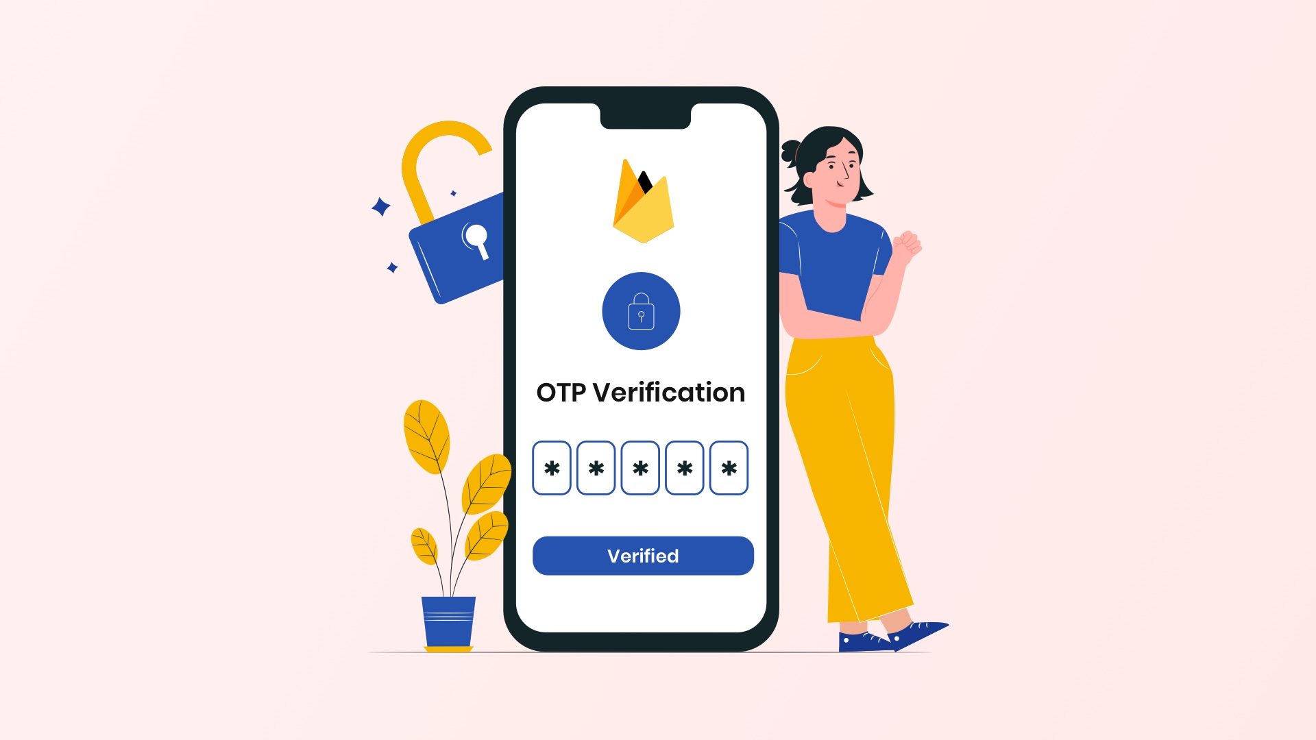 Phone number OTP verification with Firebase